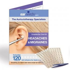 Headache ear seed kit