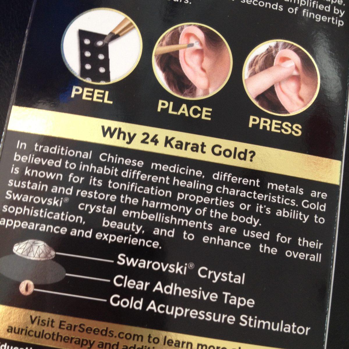Swarovski Crystal Ear Pellets