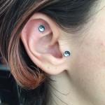 yin yang ear seeds