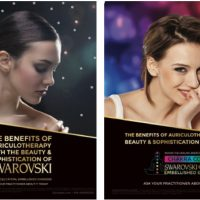 Swarovski Crystal Ear Seeds Posters