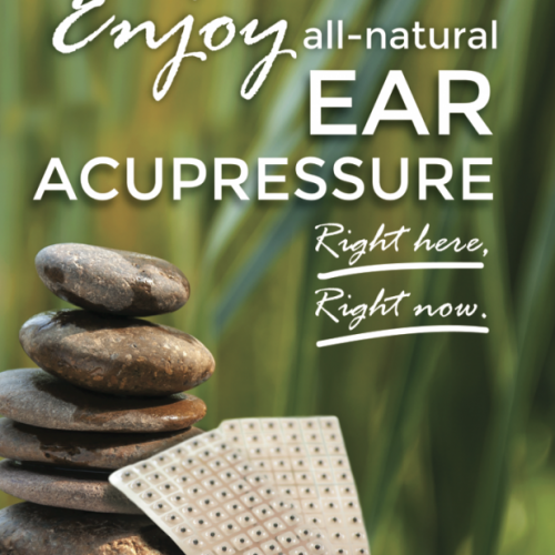 Enjoy Ear Acupressure Spa Poster