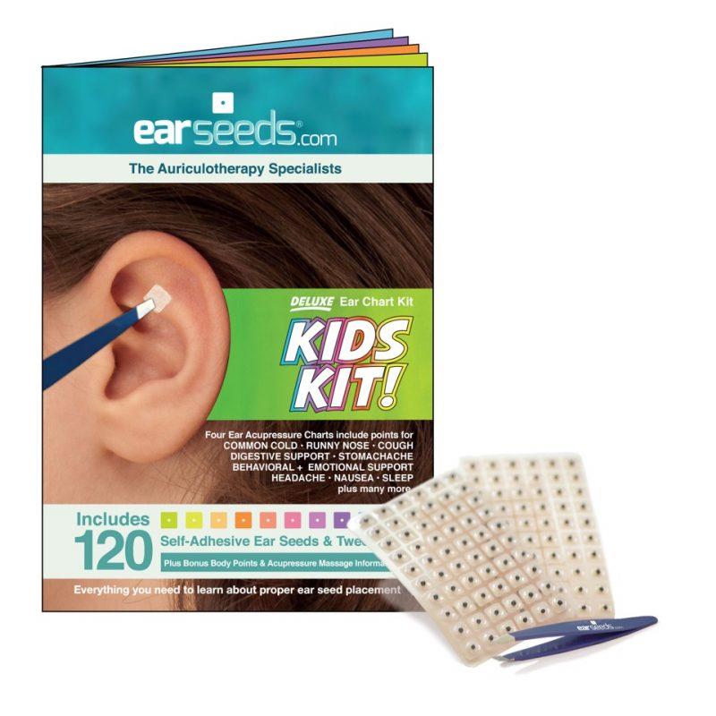 Chakra colored swarovski crystal refill packs earseeds kids ear seed kit nvjuhfo Images