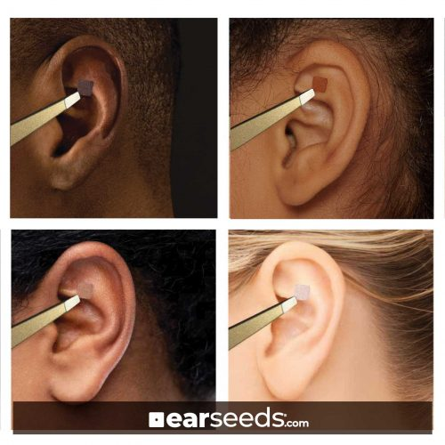 Skintoned melanated EarSeeds